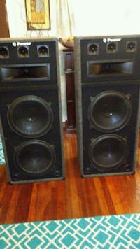 two black and gray speakers Little Rock, 72204