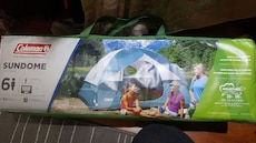 Brand new Coleman 6 people tent