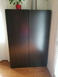 black wooden 2-door cabinet Innisfil, L9S 2G6