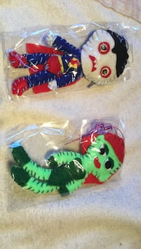 two cartoon character doll packs Montreal, H3W 2E7