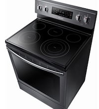 Samsung Black and gray induction range oven brand new Dumfries, 22025