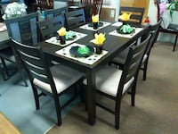 black wooden dinning table set Parma Heights, 44130