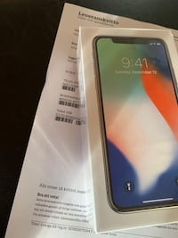 Iphone X 64gb silver Stockholm