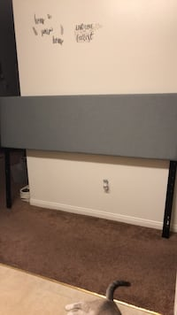 Gray king headboard new just no box from bed bath n beyond. Bakersfield, 93308