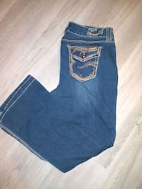 Jeans with decals size 13