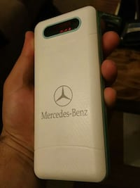 Mercedes-Benz portable battery charger with 3 usb