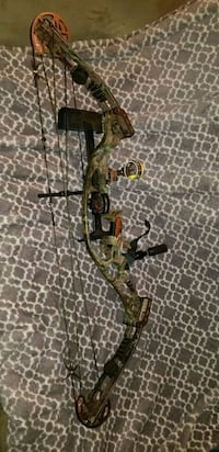 brown and black camouflage compound bow Madison Heights, 24572