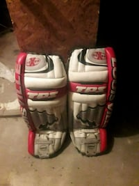 pair of goalie pads  Montreal, H8S 2T2