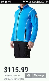 Helly Hanson fleece jacket Grande Prairie, T8V 1H6
