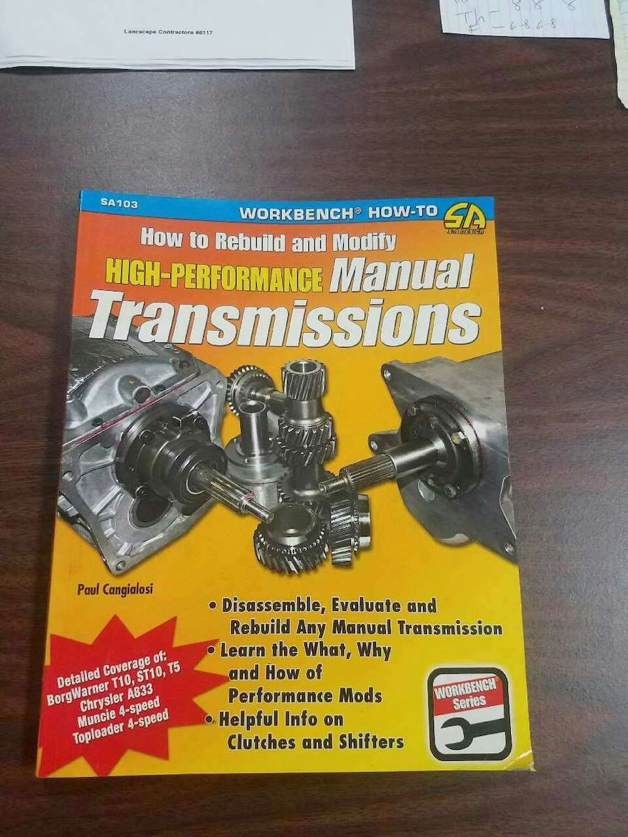 Hot to rebuild and modify high-performance Manual
