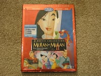 $7 Mulan 3-disc Special Edition movies 1+2 Waldorf