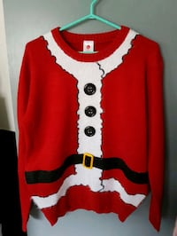 red Santa Claus sweatshirt Surrey, V3T 4A5