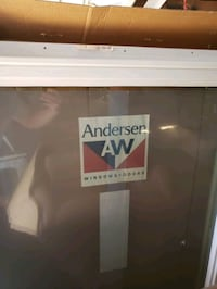 Anderson 3ft x 5ft white casement picture windows