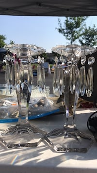 crystal  candle holders Chantilly, 20152
