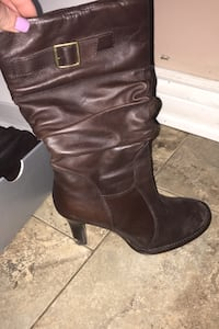 Aldo Brown boot heels