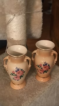 """Two """"sparkling china"""" antique vases Shawnee, 66216"""