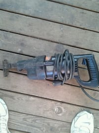 black and gray corded power tool Surrey, V3R 3P7