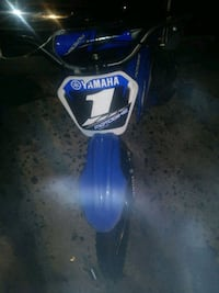 blue Yamaha off-road motorcycle Augusta, 30906