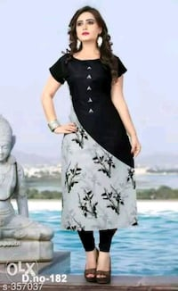 women's black and white floral dress Ludhiana, 141001