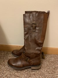 BareTraps Brown Boots  null
