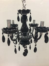 Black and gray metal candle holders Whitchurch-Stouffville, L4A 1Y2