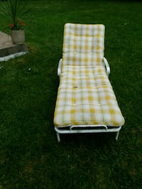 red and white plaid print folding chair Olney, 20832