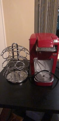 Red and gray keurig coffeemaker Toronto, M4S 0A2