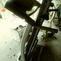 black and gray stationary bike Mission, 78572