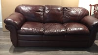 Full grain leather Lazy Boy couch. Vaughan, L4L 1K2