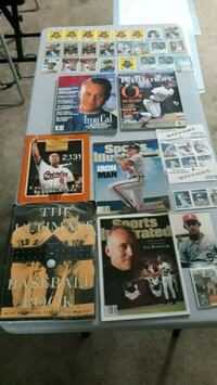 assorted baseball trading card collection Edgewood, 21040