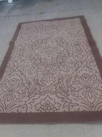 brown floral area rug Junction City, 66441
