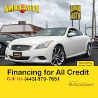 2010 INFINITI G37 Coupe Sport Laurel, 20724