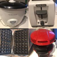 Each $5 sandwich maker rice cooker Burnaby, V5H 0E9