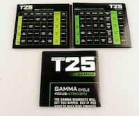 "Beachbody ""Focus T25 Gamma"" 4 Disc Workout DVDs Silver Spring, 20906"