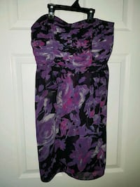 Lauren Conrad Purple Floral Dress - Size 8 St. Catharines, L2P 3N9
