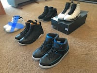 Air Jordan 2, 9, 9, 10 Maple Ridge, V2X 9V3