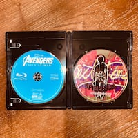 Infinity War & Into the Spider-Verse Blu-rays Chantilly