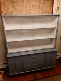 Refinished display cabinet