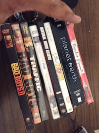 assorted DVD movie case lot Vancouver, V6A 1P8