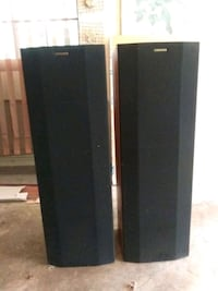 black and gray tower speaker Stone Mountain, 30083