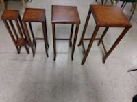 Four Wooden Nesting Tables for Sale. Norfolk, 23503