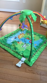 baby's green and blue activity gym Middletown, 21769