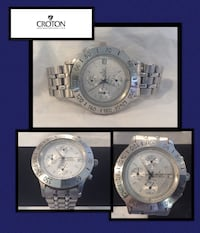 Croton chronomaster men's watch