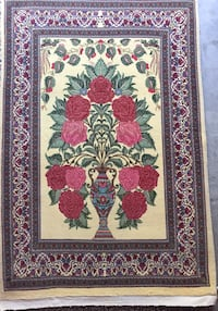 4x6 Handmade Persian Wool Rug Collectible Bethesda