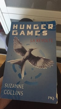 Hunger Games Suzanne Collins livre
