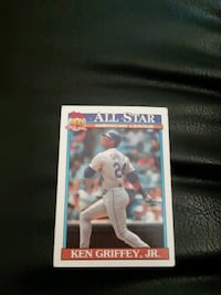 Topps baseball player trading card Harrisburg