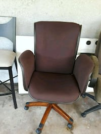 brown rolling armchair LaBelle, 33935