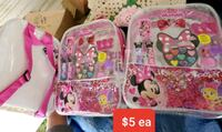 New minnie mouse make up kids back pack