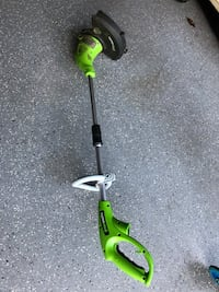 Green Works weed trimmer Centreville, 20120