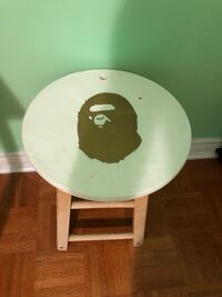BAPE painted stool Brampton, L6P 2L3